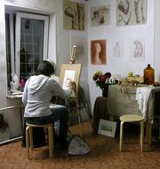 Художественная школа для взрослых.Курсы рисунка, живописи и композиции.